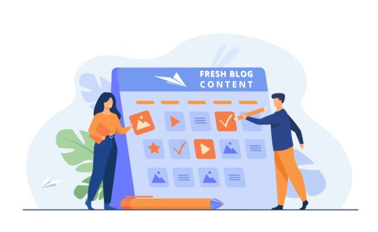 Ways to Keep Your Blog Content Fresh